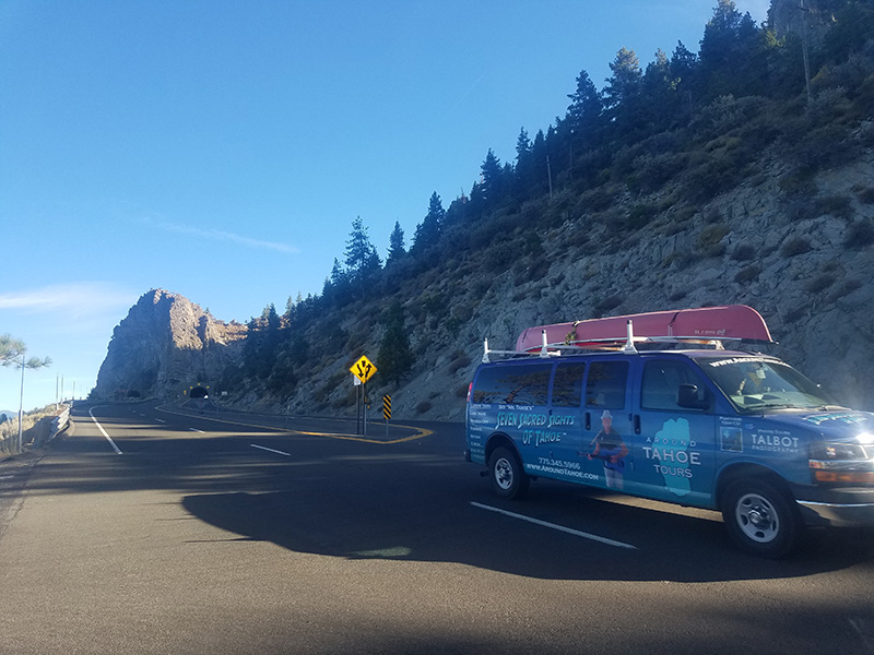 Around Tahoe Tours at Eagle Falls