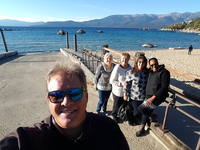 Around Tahoe Tours at Sand Harbor